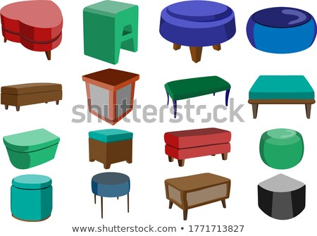 Sitting cushion Stock photo © zzve