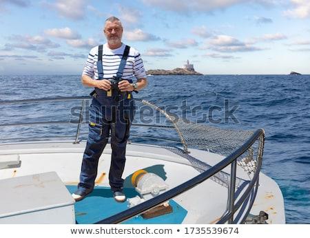 ストックフォト: 小 · 船 · 肖像 · かわいい · 子 · モデル