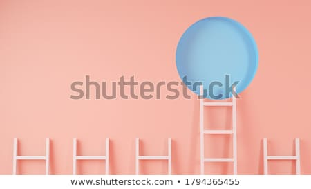 ladder to success Stock photo © silense