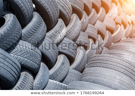 rubber tyre stock photo © kitch