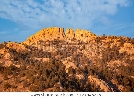 Natural Fort goelogical landmark Stock photo © PixelsAway