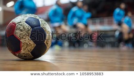 Dirty Handball Stock photo © burakowski