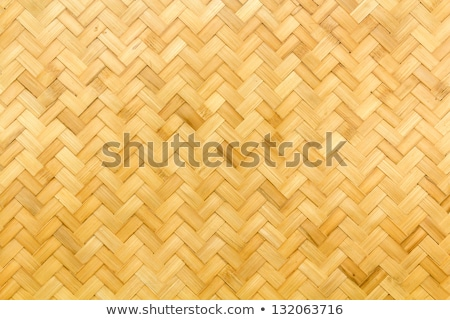 seamless background texture with woven straw Stock photo © heliburcka