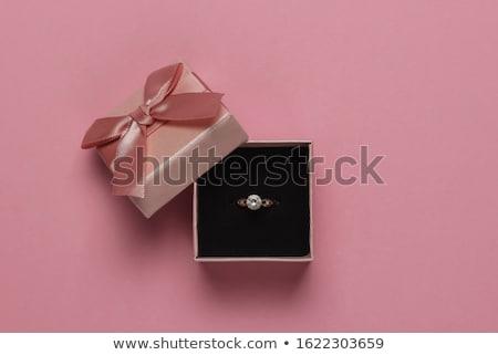 Jewellery Gift Box Stock photo © vanessavr
