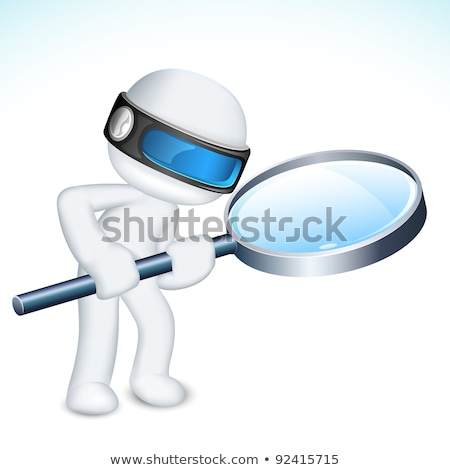 3d man in investigate pose Stock photo © Istanbul2009