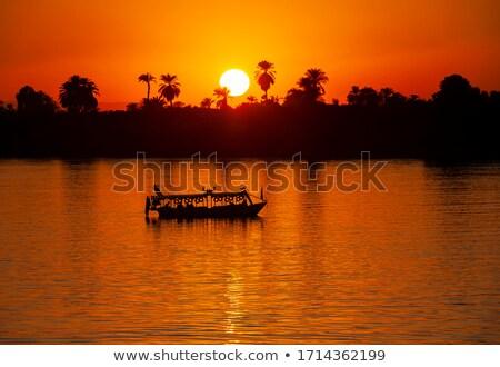 puesta · de · sol · resumen · desierto · amanecer · colores - foto stock © daneel