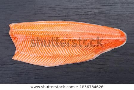 vis · filet · zalm · foto · gezondheid - stockfoto © kirpad