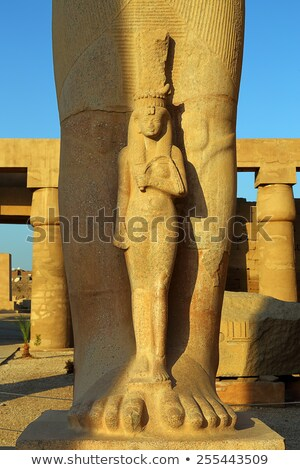 Fragment of Statue of Ramses II in Luxor Egypt Stock photo © Mikko