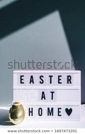 Easter Message Stock photo © Lightsource