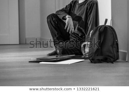 Young sad student Stock photo © hsfelix