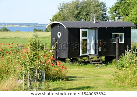 travel by mobile home stock photo © ivonnewierink