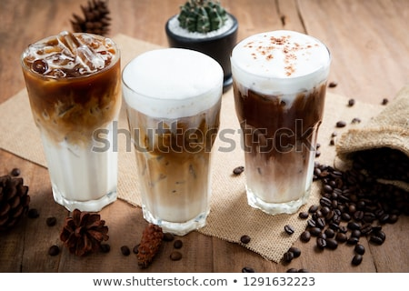 iced cappuccino Stock photo © eddows_arunothai