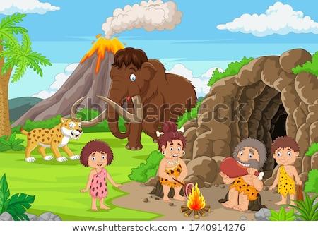primitive family stock photo © adrenalina