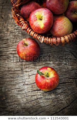 リンゴ · ケーキ · 1 · スライス · 新鮮な · 自家製 - ストックフォト © rojoimages