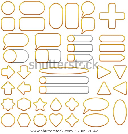 Cross Circular Gold Vector Web Button Icon Stock photo © rizwanali3d