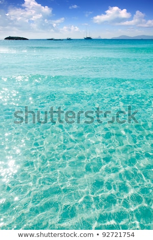 Formentera Mediterranean seascape turquoise sea stock photo © lunamarina