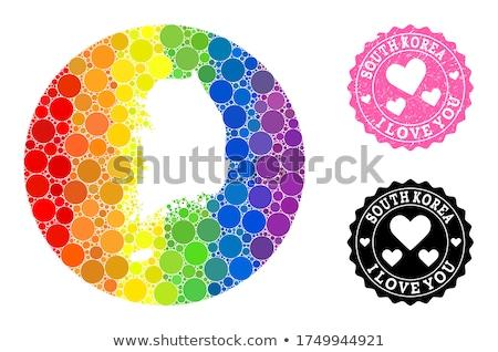 south korea gay map Stock photo © tony4urban