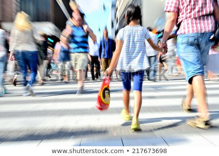 behind family with child in shop Stock photo © Paha_L