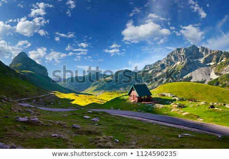 Mountains in the national park Durmitor in Montenegro, Balkans. Stock photo © vlad_star