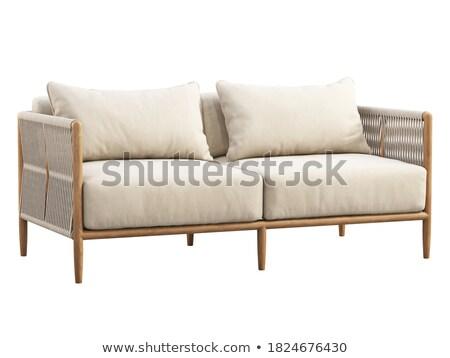 Wooden sofa Stock photo © Digifoodstock