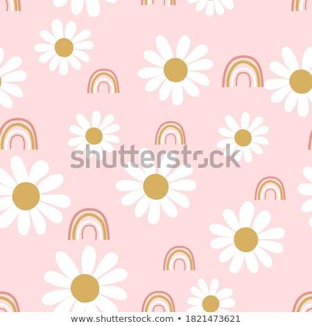 Stockfoto: Baby In The Daisies