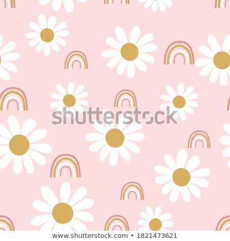 baby · madeliefjes · me · ziek · eten · bloemblaadjes - stockfoto © adrenalina