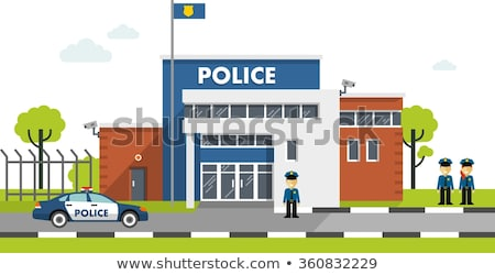 A police station building Stock photo © bluering