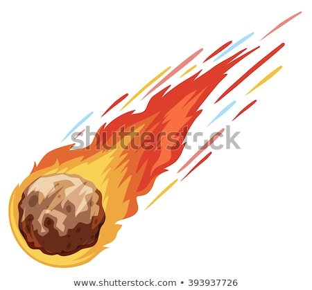 Comet falling down fast Stock photo © bluering