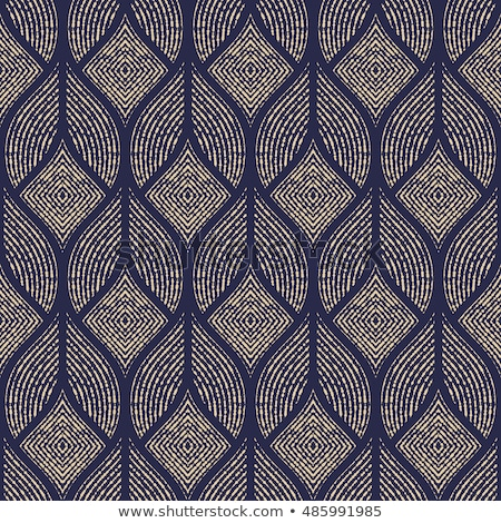 Geometric shapes seamless pattern. Gold pattern for fashion and wallpaper. Abstract vector illustrat stock photo © Said