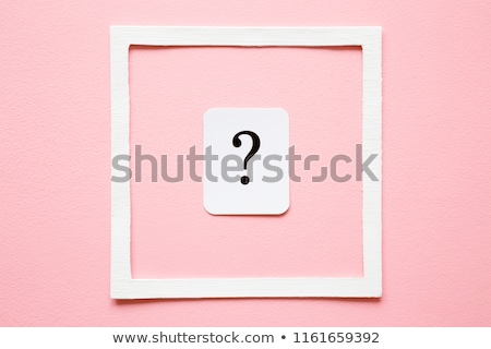 Business woman with question marks looking for answers Stock photo © stevanovicigor