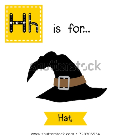 Flashcard letter H is for holiday Stock photo © bluering