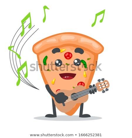 Musical Note Mascot Stock photo © Krisdog