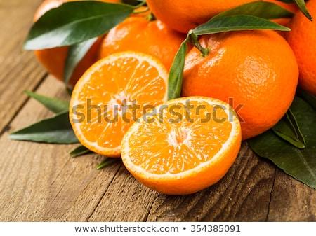 апельсинов чаши белый Cut здорового Сток-фото © Digifoodstock