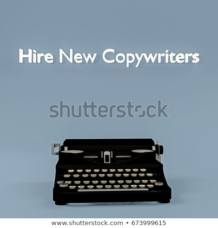 Stock photo: Now Hiring Writer. 3D.
