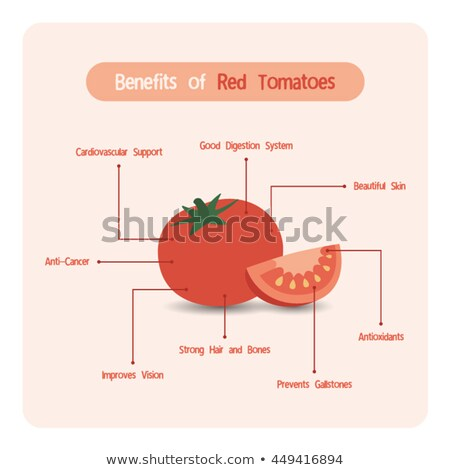 Lycopene Tomato Concept Stock photo © Lightsource