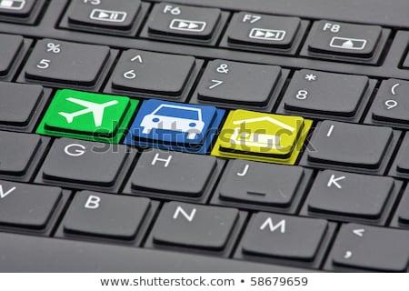 Business Tourism - Computer Keyboard Concept. Stock photo © tashatuvango