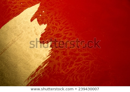 abstract artistic red new year text stock photo © pathakdesigner