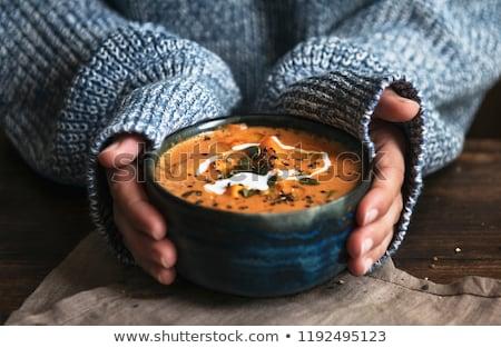 Saisonnier recettes pièce papier haut rustique Photo stock © unikpix