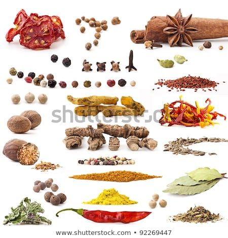 Spices: small pile of allspice  Stock photo © digitalr