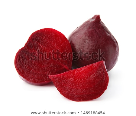 Boiled beetroot cut into slices stock photo © Lana_M