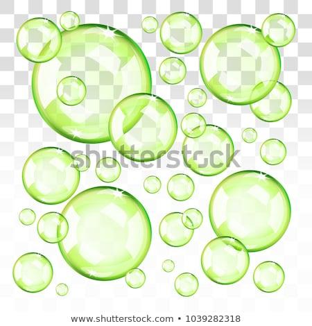 水 · 泡 · 抽象的な · 背景 - ストックフォト © tilo