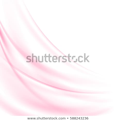 abstract transparent smooth pink wave background Stock photo © SArts