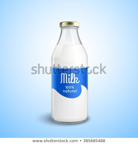 3D · flessen · geïsoleerd · witte · afbeelding - stockfoto © djmilic