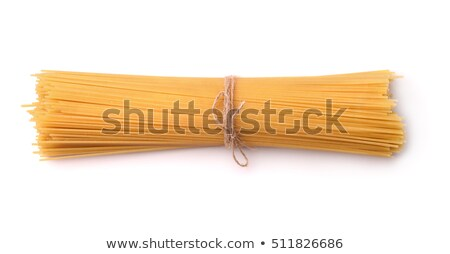 bunch of uncooked spaghetti and wheat stock photo © dash
