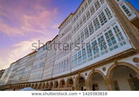 La portu Hiszpania świetle ulicy Zdjęcia stock © lunamarina