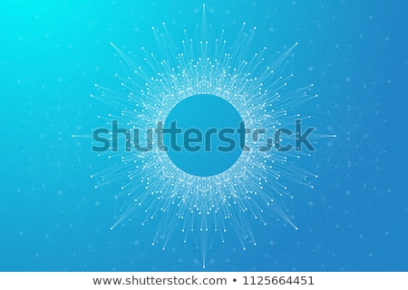 molecule background vector science chemical formula medical banner abstract design structure i stock photo © pikepicture