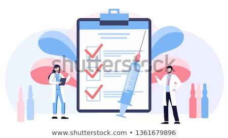 Lek apteki produkcji pomoc ludzi Zdjęcia stock © robuart