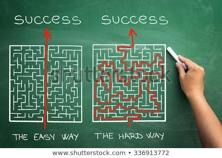 hard way to success stock photo © genestro