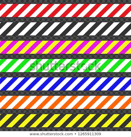 バリケード セット キャッチ 注目 可能 ハザード ストックフォト © AisberG