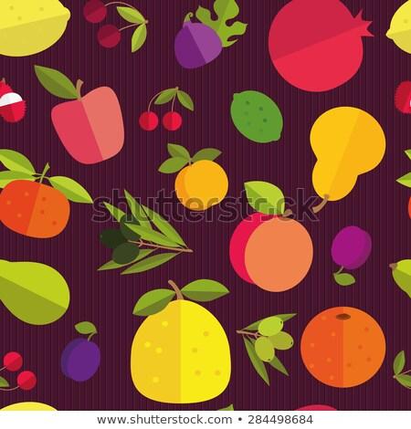 frutta · viola · top · view · estate - foto d'archivio © xamtiw